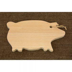 Planchette en bois cochon